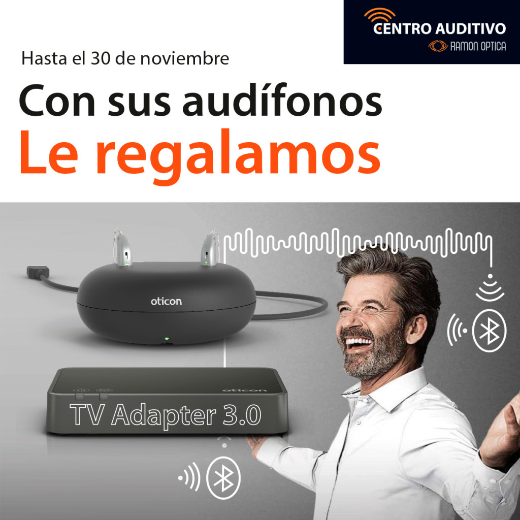 Con tus audífonos le regalamos un TV Adapter 3.0!