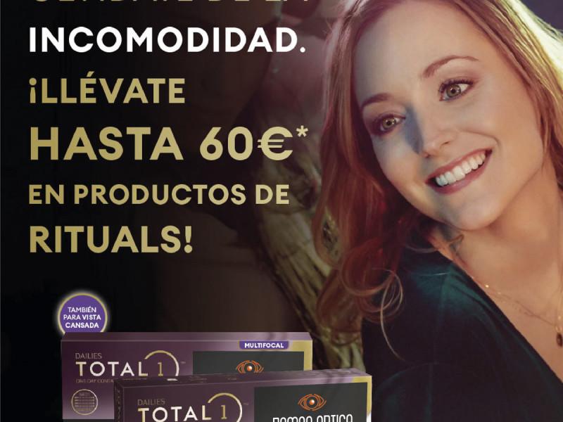 ¡Llévate hasta 60€ en productos de Rituals!